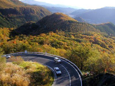 紅葉前線 日光 ドライブ