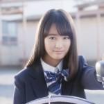 アルベルトCM 自転車の女子高生がかわいい!大友花恋は髪サラサラ