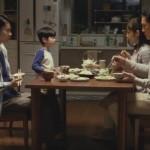 「グラブってる?」子役が食卓で父と母を困らせるCM〜庵原匠悟君!