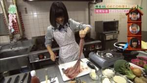 尾関梨香 料理