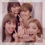 サマンサベガCM・E-girlsモデル組(藤井萩花&夏恋 佐藤晴美 楓)激カワ!