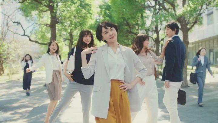 新垣結衣 ガッキー 公園 女性 3人の女性 ユニクロ CM
